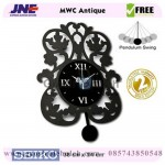 Jual Jam dinding MWC Antik Garansi Seiko 2 Tahun